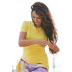 Camiseta Algodón Peinado woman