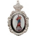 Medallón con foto serie religioso
