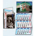 Calendario de pared 3 meses vista wireo