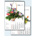 Calendario mensual pared
