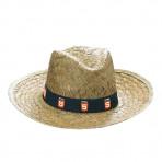 Sombrero de Paja jaspeado caqui