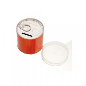 Hucha con forma de lata personalizable