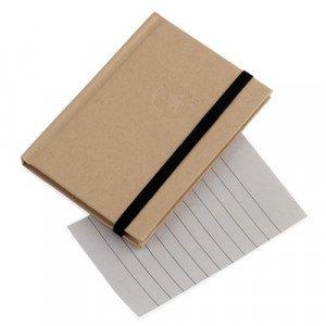 Bloc de notas Anak.Portadas en Cartón reciclado.60 hojas.