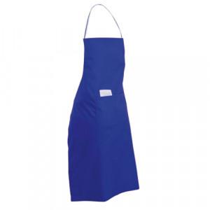 delantal color azul
