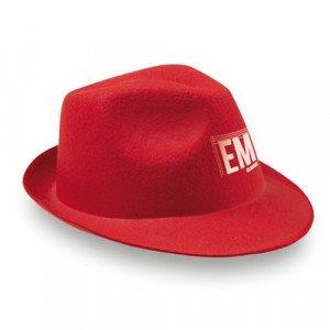 Sombrero Maston Rojo de fieltro para publicidad