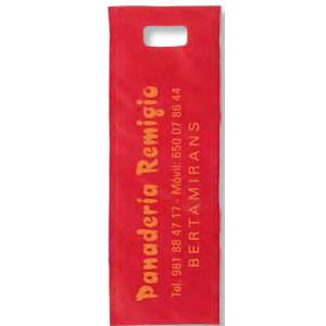 Bolsa Mutiusos Asa Troquel 20 x 58 cm reutilizable y personalizable