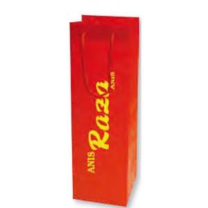 Bolsa de regalo PVC en tamaño ancho:(11 cm) + Fuelle(10 cm) x Alto(36 cm)
