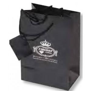Bolsa de regalo de papel plastificado en tamaño ancho:(26 cm) + Fuelle(11 cm) x Alto(36 cm)