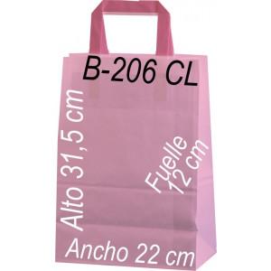 Bolsa de papel personalizada para comercios