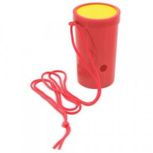 Bocina con colgador roja personalizable