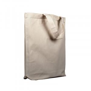 bolsa publicitaria sin fuelle algodón extra 38x42x9 cm