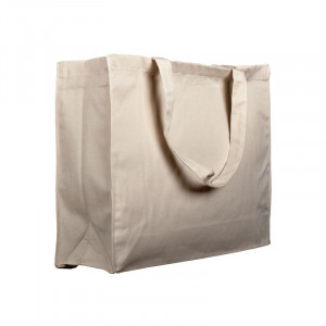 Bolsa de la compra algodón extraresistentes 45x36x13 cm
