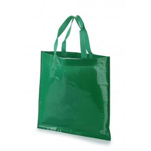 bolsa tejido rafia 40x40 sin fuelle color verde