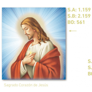 calendario corazón de jesús