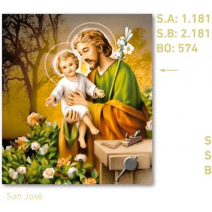 calendario religioso San José