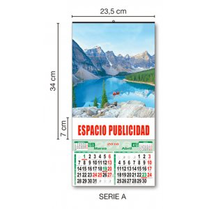 MEDIDAS CALENDARIO DE PARED 23 CM