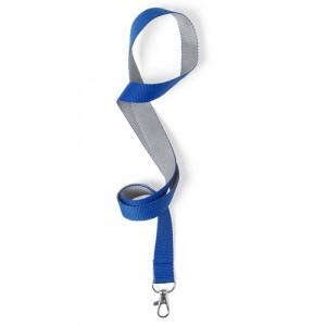 Cinta colgador Acreditación Gris-Azul
