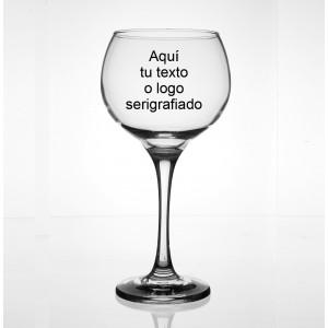 Copa de cristal Ambassador con logo
