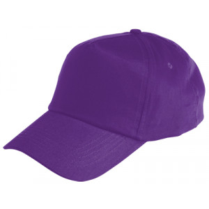 Gorra infantil color lila