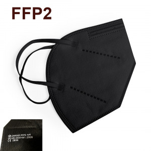 mascarilla FFP2 negra barata