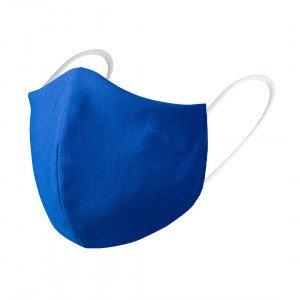 mascarilla higiénica reutilizable personalizada azul
