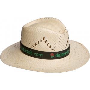 Sombrero publicitario de paja Modelo indiana