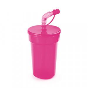 vaso publicidad fraguen rosa