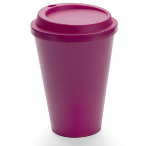 vaso plástico kimstar rojo