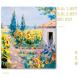 calendario de bolsillo pintura girasoles
