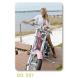 calendario de bolsillo moto custom