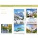 calendario publicidad de pared 5 hojas paisajes internacionales