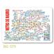 calendario de bolsillo mapa metro de madrid