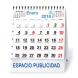 calendario sobremesa neutro mensual 7 hojas